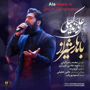 دانلود آهنگ شیرازی علی زندوکیلی